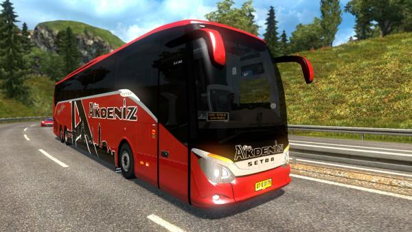 Mod of the Setra S 519 HD regular bus for ETS 2