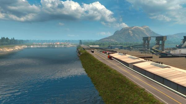 Mod maps of the Republic of Aloma with the original name Republic of Aloma for ETS 2