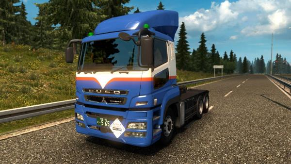 Fuso Super Great truck mod for ETS 2