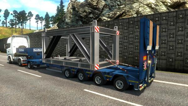 Trailer mod from Zeeuwse Trucker for ETS 2