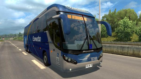 Mascarello Roma 370 bus mod for ETS 2