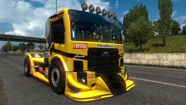 Mod sports truck Volkswagen Constellation Trucks Racing for ETS 2