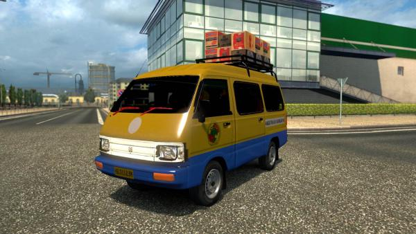 Мод автомобиля Suzuki Carry для ETS 2