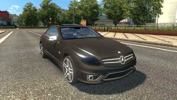 Mod passenger car Mercedes-Benz CL65 AMG for ETS 2