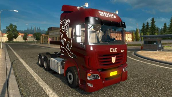 Mod Chinese truck C&C U520 for ETS 2