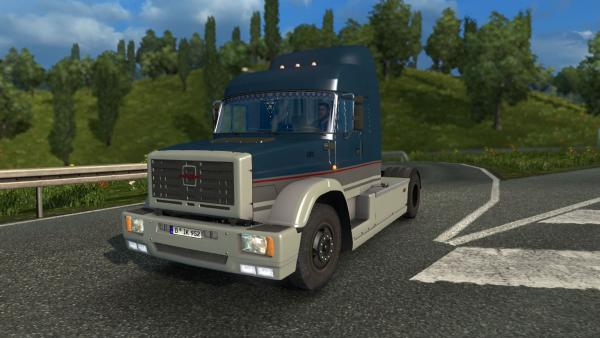Mod truck ZIL MMZ 5423 for ETS 2