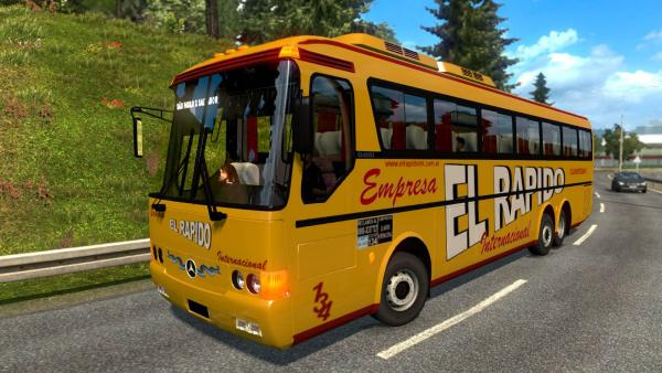 Mod of the regular bus Mercedes-Benz Monobloco O-400 for ETS 2