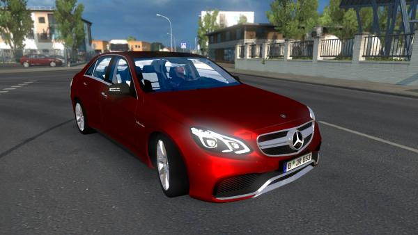 Mod passenger car Mercedes-Benz E63 AMG for ETS 2