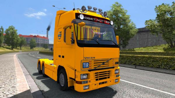 Mod truck Volvo FH12 and FH16 for ETS 2