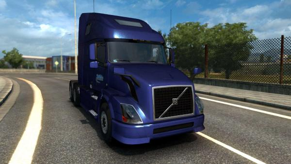 Volvo VNL 630 and 670 truck mod for ETS 2