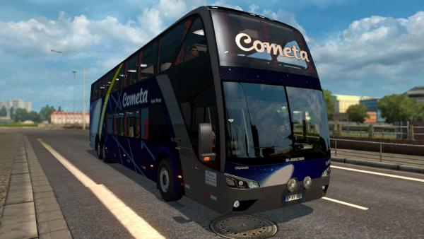 Scania Busscar Panoramico DD tourist bus mod for ETS 2