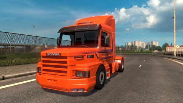 Scania 113 H truck mod for ETS 2