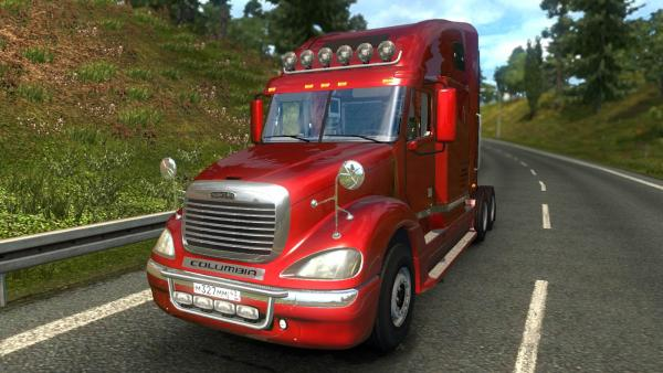 Truck mod Freightliner Columbia for ETS 2