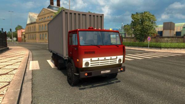 Truck mod KamAZ-53212, 5410, 5511 and 4310 for ETS 2