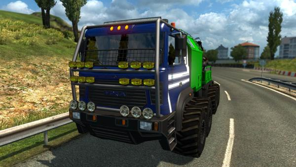 Mod truck tractor Ural Taganay for ETS 2