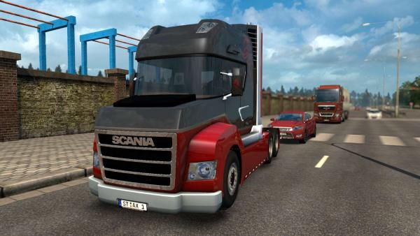 Scania STAX truck mod for ETS 2