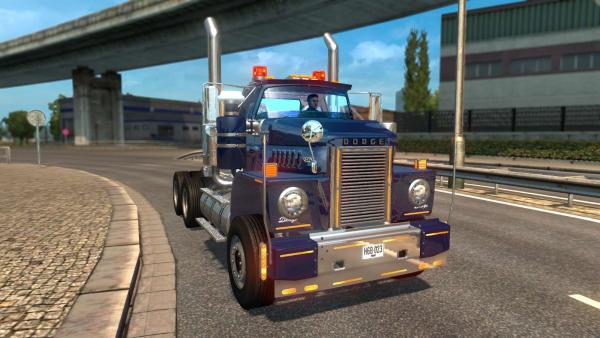 Truck mod Dodge 900 CNT for ETS 2