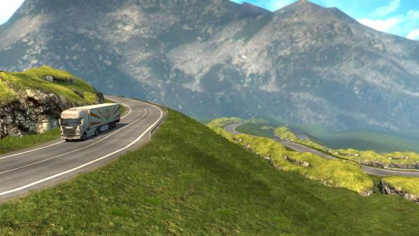 Transfagaras Highway Map Mod for ETS 2