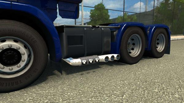 Мод тюнінгу Exhausts & Tuning Parts для ETS 2