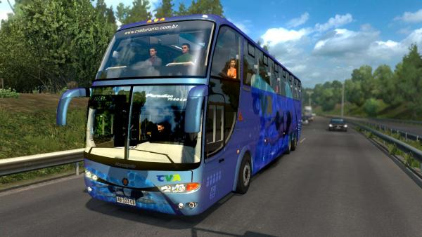 Bus mod Marcopolo Paradiso G6 1550 LD for ETS 2