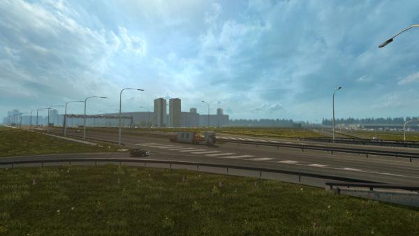Mod maps Minsk-Moscow-Crimea for ETS 2