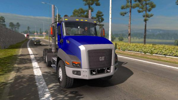 Cat CT660 truck mod for ETS 2