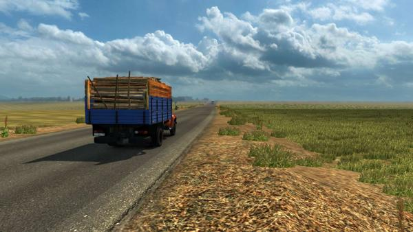 Kazakhstan map mod for ETS 2