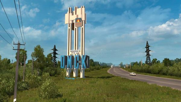 Mod maps of Siberia for ETS 2