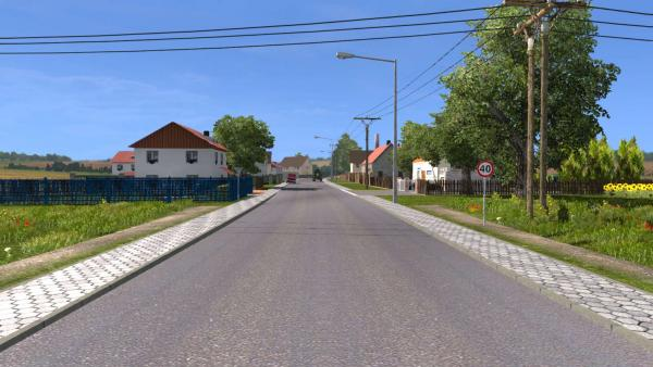 Mod maps House, sweet home for ETS 2