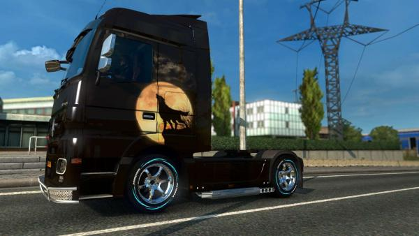 New rims and tires mod - Tire Pack for All Truck for ETS 2