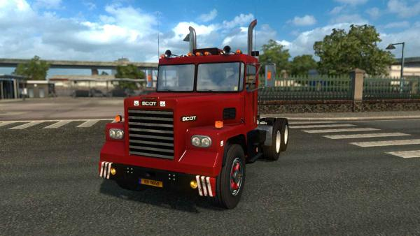 Scot A2 truck mod for ETS 2