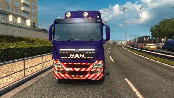 Mod truck tractor MAN TGS for ETS 2