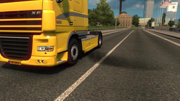 Exhaust Smoke Mod for ETS 2