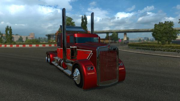 Мод тягача Kenworth Hot Rod the Phantom для ETS 2
