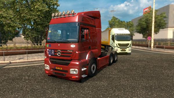 Truck mod Mercedes-Benz Axor for ETS 2