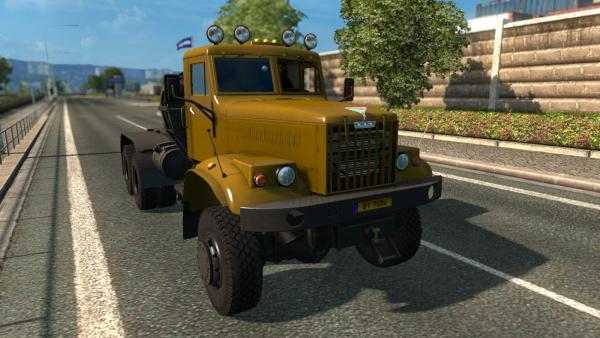 Mod trucks KrAZ-255 and KrAZ-260 for ETS 2