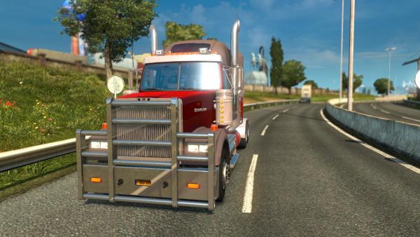 Powerful Western Star 4900 truck mod for ETS 2