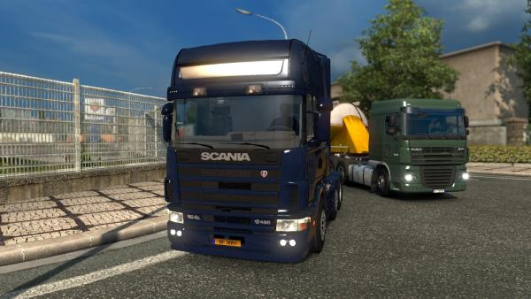 Truck Mod Scania 4 Series for ETS 2