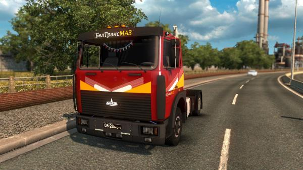 MAZ-6303 truck mod for ETS 2