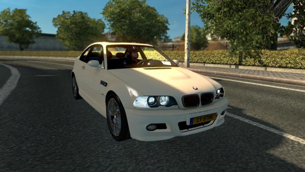 Mod passenger car BMW E46 for ETS 2