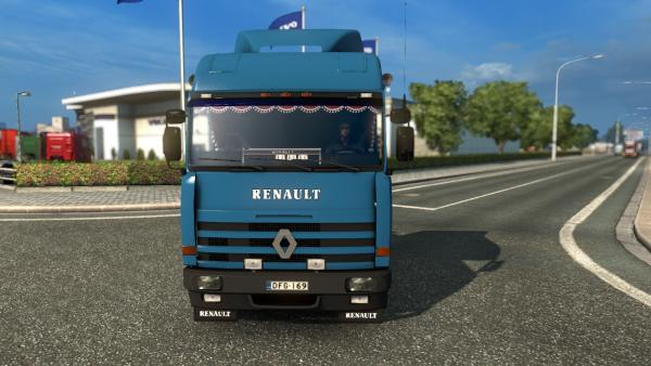 Mod truck tractor Renault Major for ETS 2