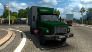 Mod GAZ-3307 with tank trailer for ETS 2