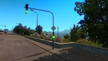 Mod Realistic traffic signals for ETS 2