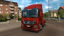 Mod New tuning Actros MP3 for ETS 2