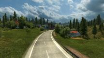 Mod Map of Slovakia for ETS 2