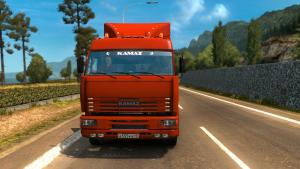 Mod KamAZ-5460, 6460, 65117 and 65201 for ETS 2
