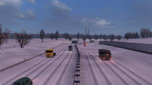 Mod Frosty Winter Weather for ETS 2