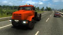 Mod KrAZ-6443 and KrAZ-64431 for ETS 2