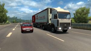 Mod Russian Traffic Pack for ETS 2