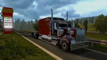 Mod Kenworth W900 Long for ETS 2